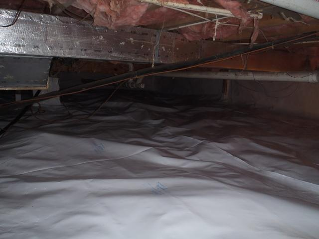 Crawl Space Encapsulation in Charles Town, WV - After Photo