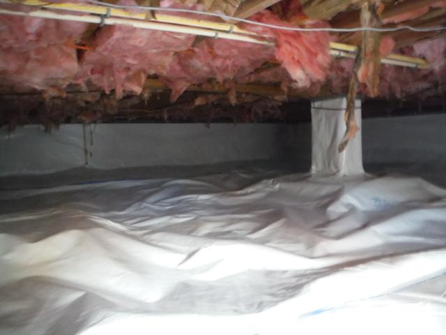 Crawl Space Encapsulation in Harpers Ferry, WV - After Photo