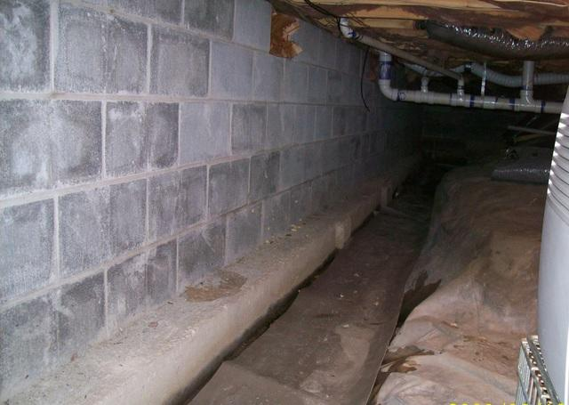 Crawl Space Encapsulation in Terra Alta, WV