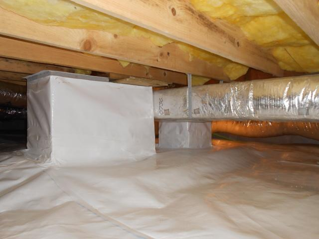 Crawl Space Encapsulation in Peterstown, WV