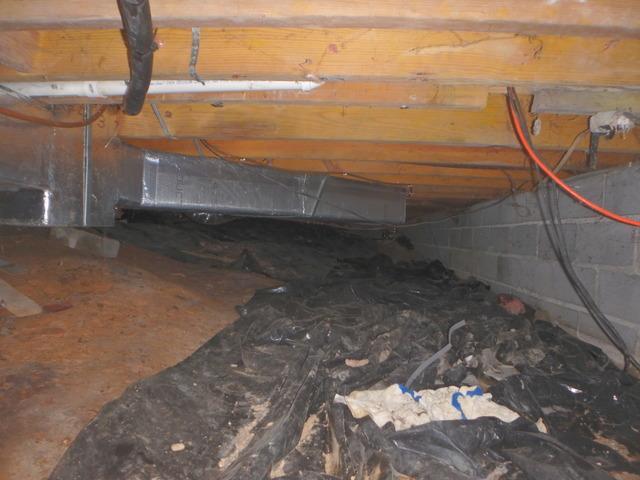 Crawl Space Encapsulation in Fairdale, WV