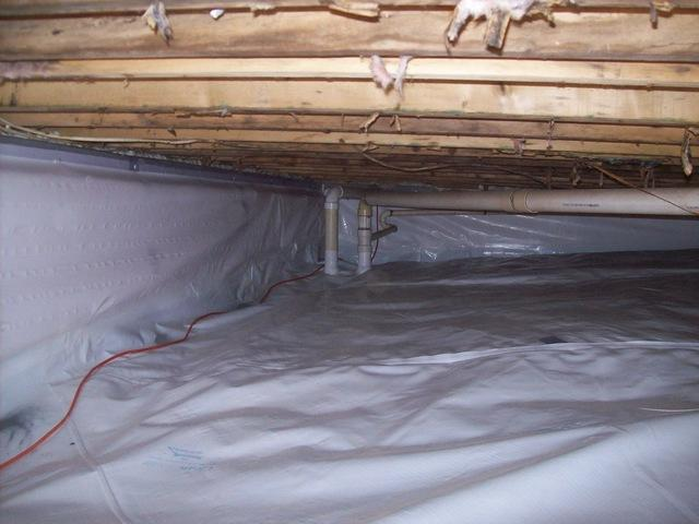 Crawl Space Encapsulation in Webster Springs, WV