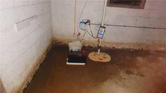Basement Waterproofing in East Bank,WV