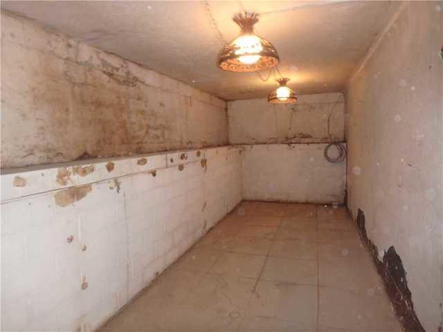 Basement Waterproofing in Martinsburg, WV - Before Photo