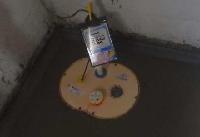 Oak Hill, WV Basement Gets Waterproofing System Installed