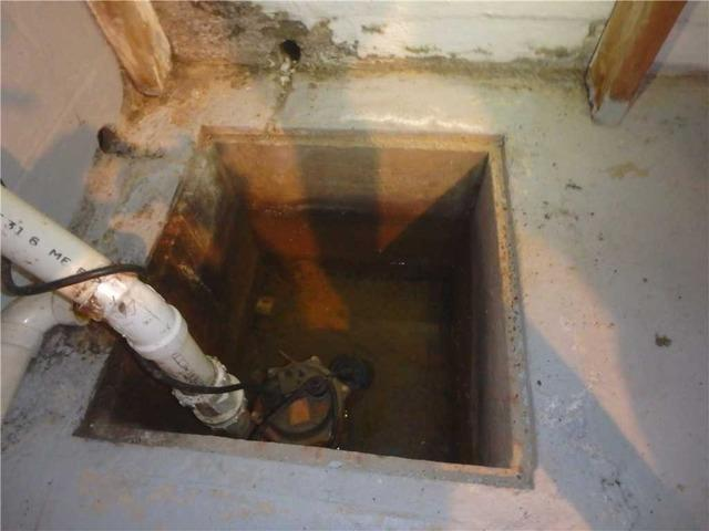 Waterproofing In Morgantown, WV - Before Photo