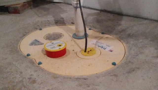 TripleSafe Sump Pump install in New Martinsville WV