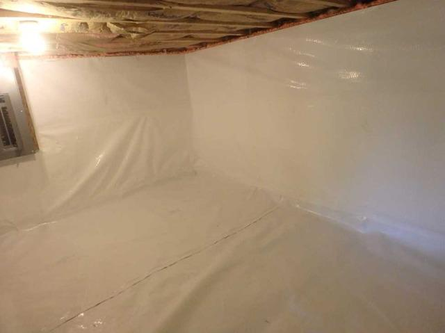 Crawl Space Encapsulation of Family Home in Moorefield WV