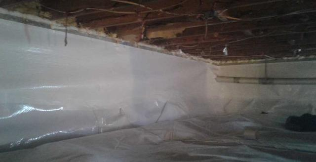 Crawlspace Encapsulation in Montrose West Virginia