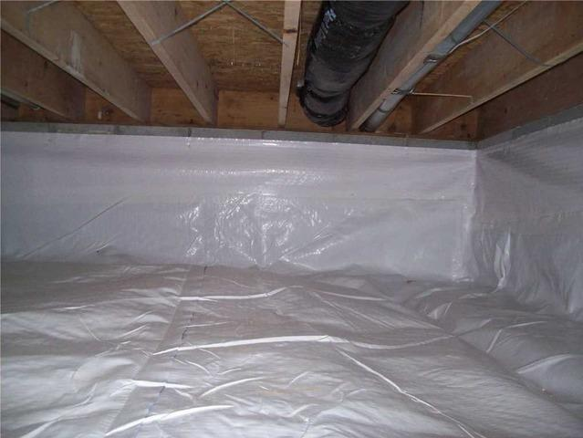 Crawl Space Encapsulation of Family Home in Buffalo, WV