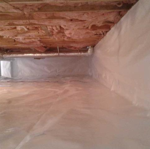 Crawl Space Encapsulation of Family Home in Camp Creek WV