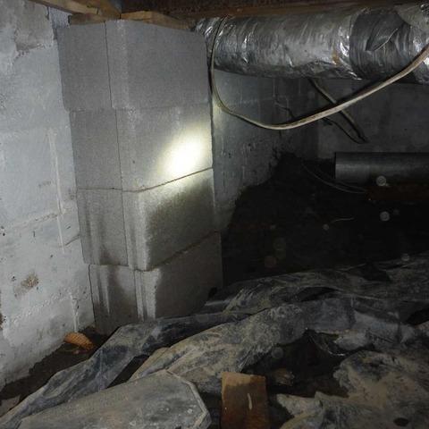 Waterproofing Crawlspace in Kistler, WV