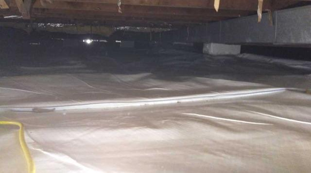 Waterproofing and Encapsulating a Crawlspace in Lesage, WV