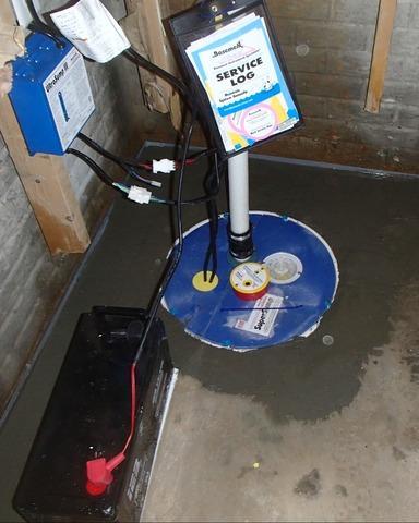 Waterproofing Basement in Kearneysville, WV
