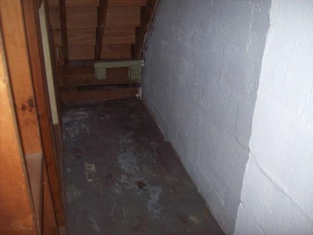 Leaky Basement Waterproofed in St. Albans, WV.