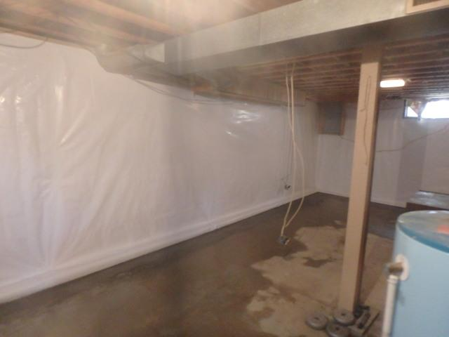 Basement Makeover in Parkersburg, West Virginia