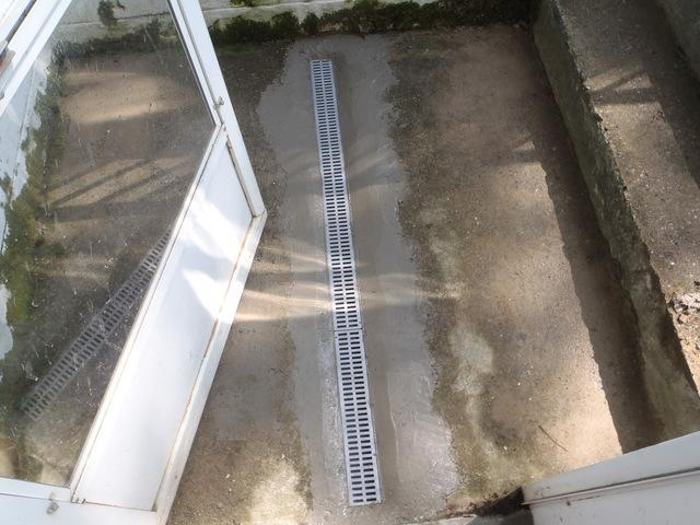 Trench Drain to the Rescue in Lewisburg, WV