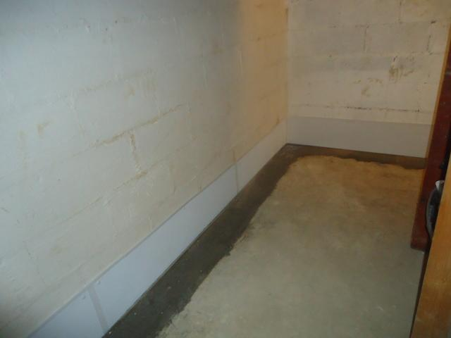 Waterproofing a Basement in Mullens, WV.