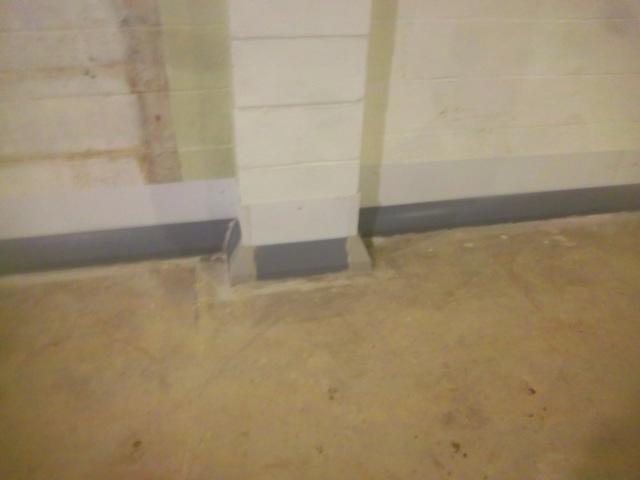 Waterproofing a Basement in Morgantown, WV.