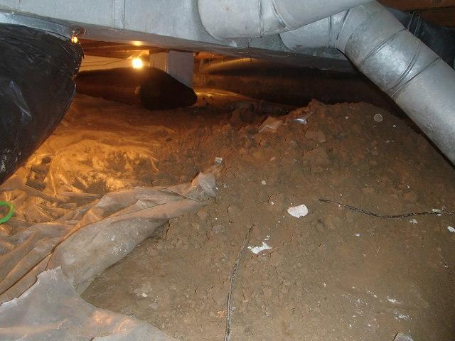 CleanSpace Installation In A Crawlspace in Huntington, WV