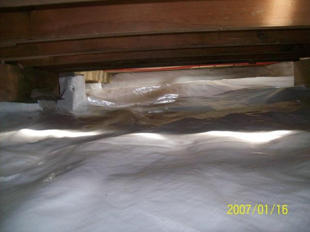 Crawl Space Transformation in Philippi, West Virginia