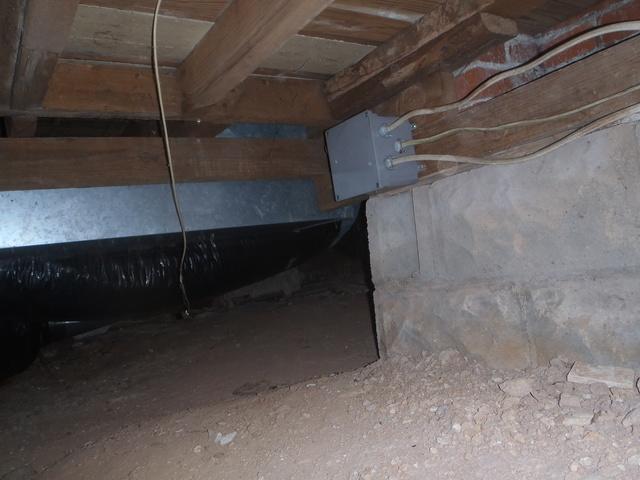 Before & After: Crawl Space Repair in Salem, West Virginia