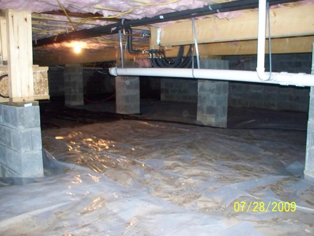 Before and After: Drastic Improvement on Crawl Space in Charleston, West Virginia