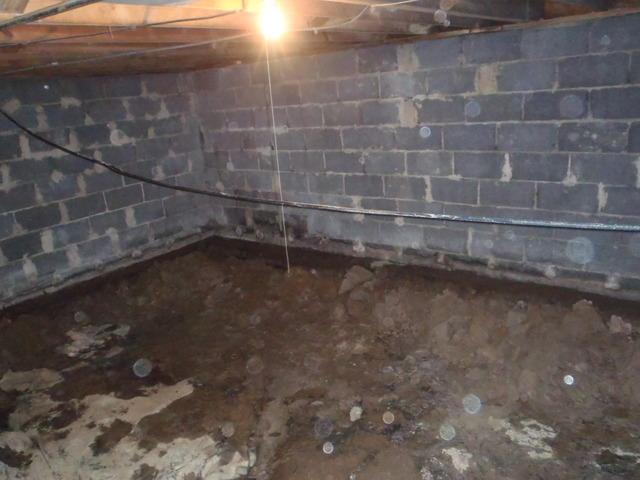 Before & After: Repairing A Crawl Space in Belle, West Virgina