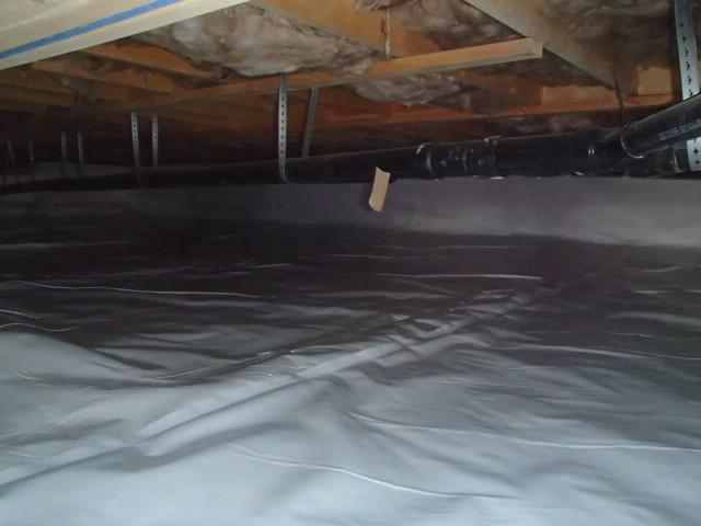 Before & After: Encapsultating A Crawl Space in Parkersburg, West Virginia