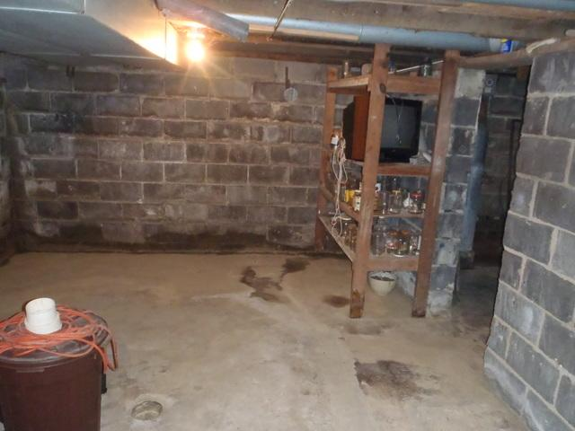 Foundation Cracks Fixed with PowerBrace in Morgantown, WV.