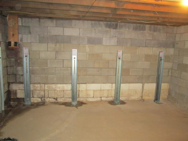 GeoLock Wall Anchors in Pullman, WV.