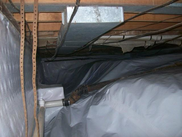 CleanSpace Saves Crawl Space in Spencer, WV.
