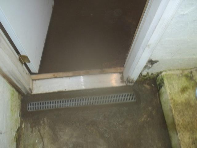 Trench Drain to the Rescue in Independence, WV