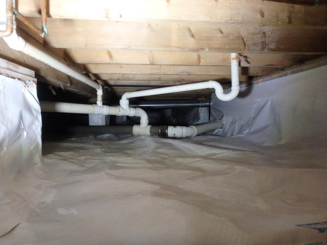 Before & After: Crawl Space Makeover in Wallace, West Virginia