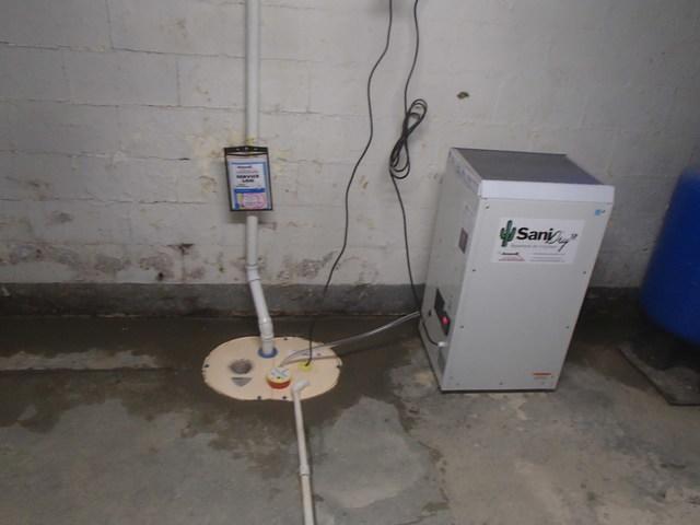 Sump Pump Upgrade in Meadow Bridge, West Virginia