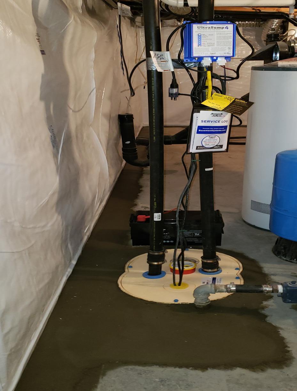 Basement Waterproofing 2020 - After Photo