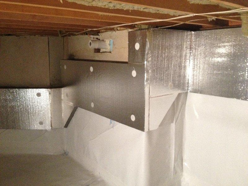 Crawlspace Repair in Coquitlam, BC   - After Photo