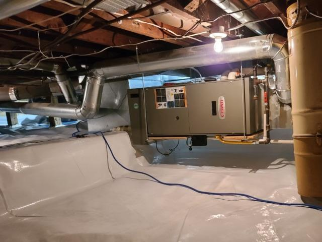 Crawlspace repair in North Vancouver B.C.