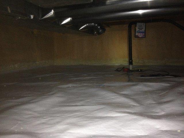Wet Crawl Space Repair North Vancouver, BC