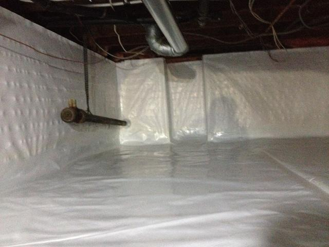Crawlspace Vapour Barrier in White Rock, BC