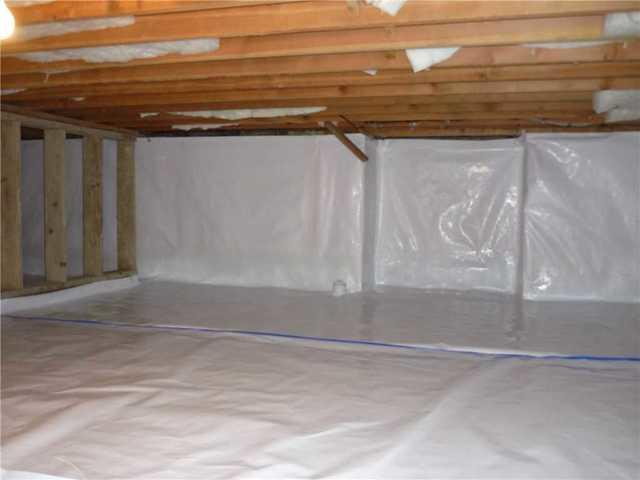 Crawlspace Sealing in South Surrey, BC - After Photo
