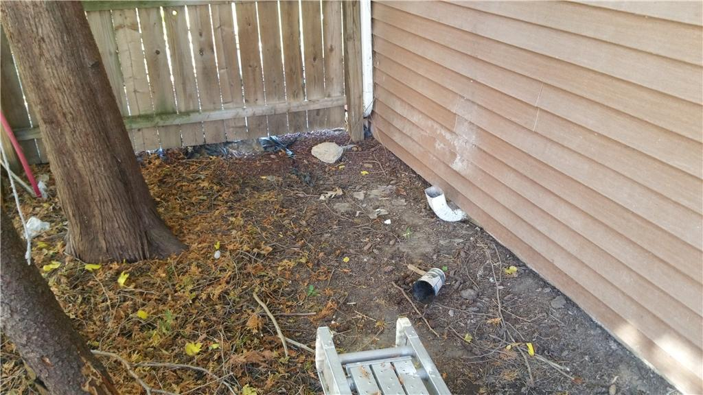 Covered Crawl Space Entry Well in Peoria Heights - Before Photo
