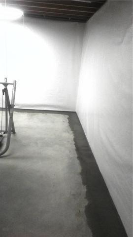 Church Basement Waterproofing - After Photo