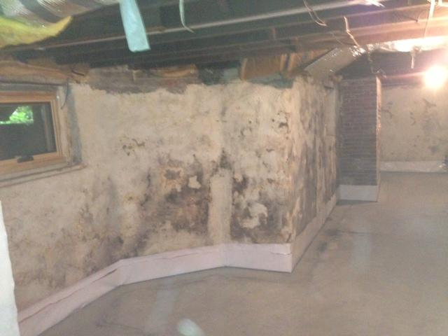 Waterproofing a historic 18th Century Home