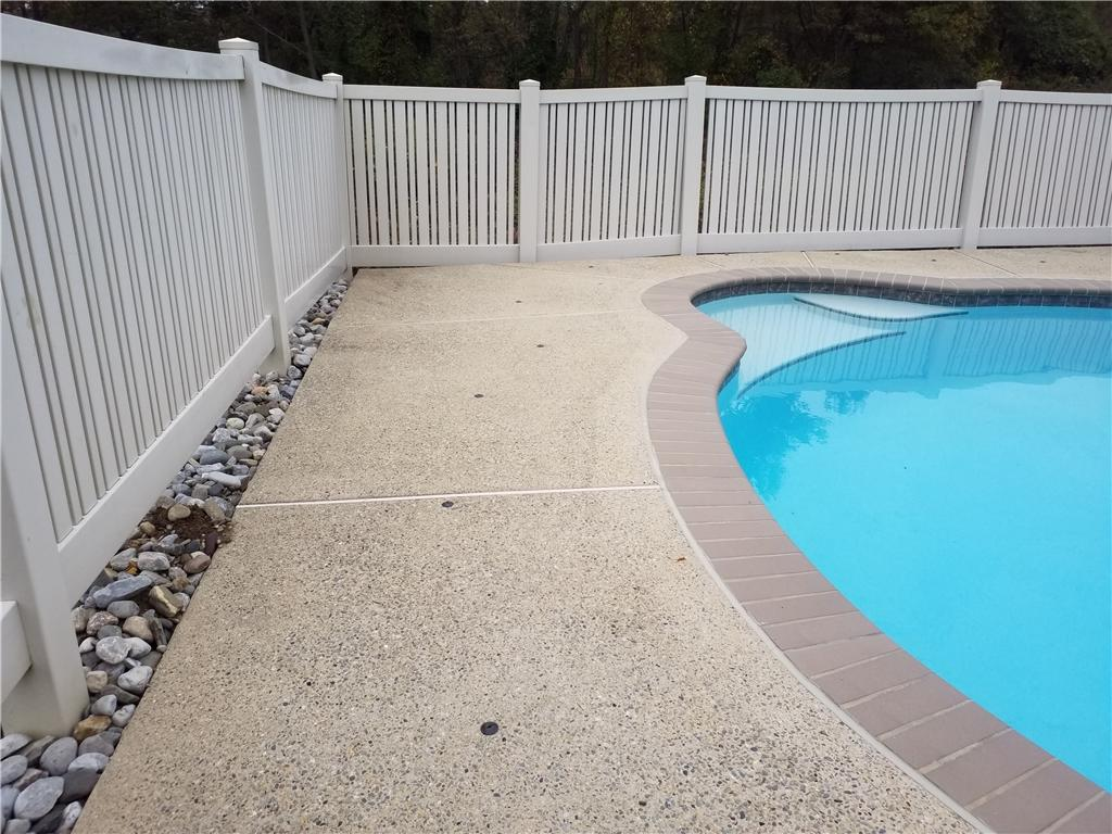 Sinking Poolside Concrete in Lincoln University, PA - After Photo
