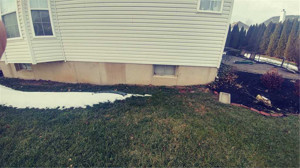 Leaking Basement Window in Garnet Valley, PA - Before Photo
