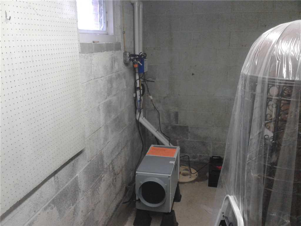 Basement Waterproofing in Sharon Hill, Pa - After Photo