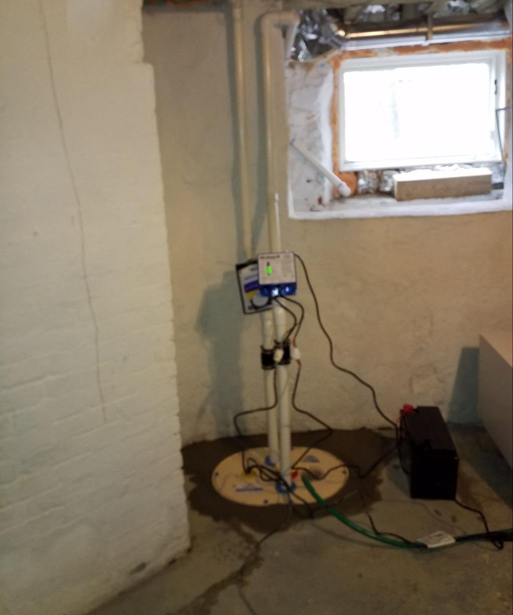 Sump Pump Replacement in Kempton, Pa - After Photo