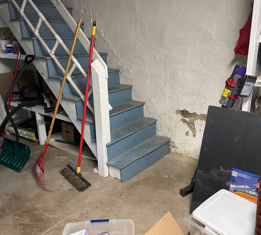 Basement Waterproofing in Manheim, PA - Before Photo