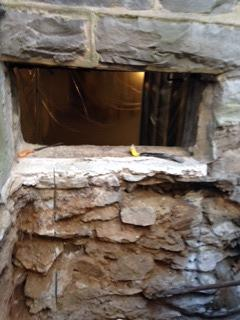 Basement Window Installation in Philadelphia, PA - Before Photo